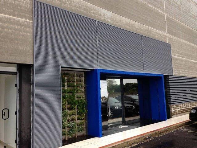 revestimento metálico fachadas curitiba