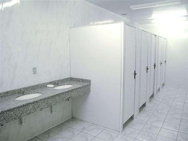 divisoria de pvc para banheiro preço