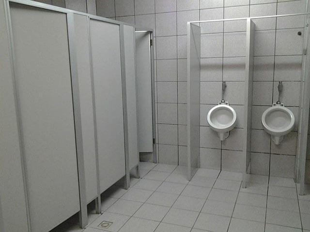 divisorias de pvc para banheiros