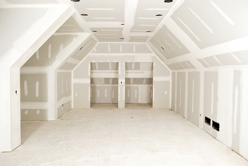 Drywall no teto